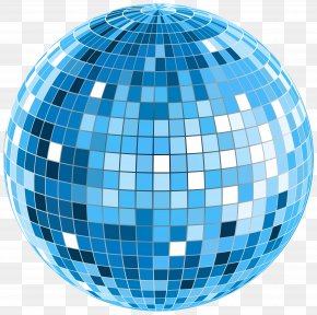 Blue Disco Ball Transparent Clip Art Image - Disco Nightclub Royalty-free Clip Art PNG