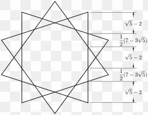 Shape - Regular Polygon Decagram Star Polygon Geometry PNG