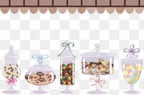 Candy Jar - Candy Clip Art PNG