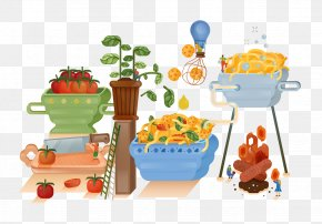 Tomato Cooking Machine - Cuisine Tomato Cooking Cartoon PNG