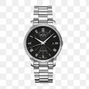 Mido Baroncelli Watches - Mido Automatic Watch Strap Movado PNG