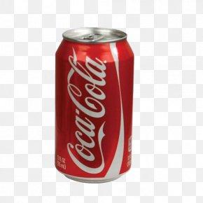 Coke - Coca-Cola Soft Drink Safe Beverage Can Sprite PNG