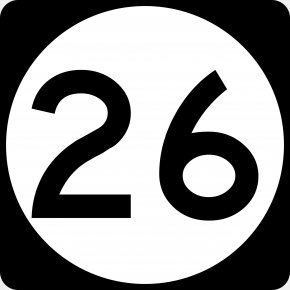 United States - United States Road US Numbered Highways Symbol Map PNG