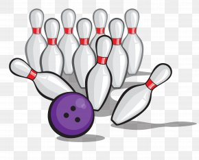 Vector Bowling Tournament - Bowling Pin Bowling Ball Clip Art PNG