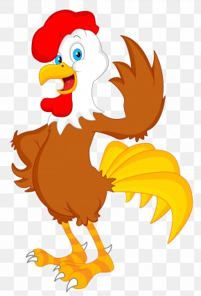 Cock - Chicken Rooster Cartoon Royalty-free PNG