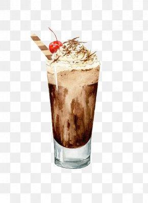 Drink - Coffee Watercolor Painting Drawing Drink Illustration PNG
