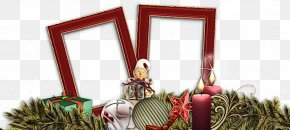 Christmas Ornament Holiday - Picture Frame PNG