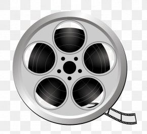 Reel Vector - Art Film Reel Cinema Clip Art PNG