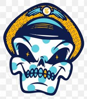 Cartoon Skull - Sticker Art Behance Graffiti Illustration PNG