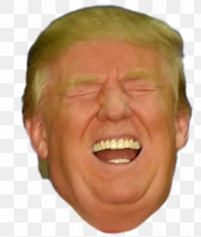 Donald Trump - Donald Trump Chin President Of The United States Make America Great Again Cheek PNG
