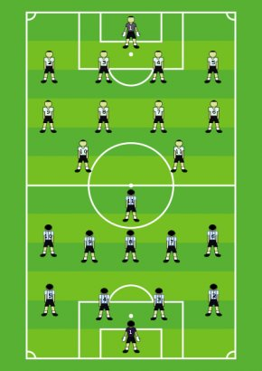 ISoccer Field Cliparts - Football Pitch Football Player Athletics Field Clip Art PNG