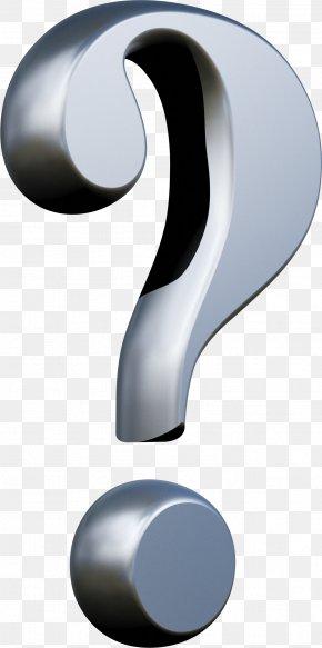 Question Mark - Earring Question Mark Handbag PNG