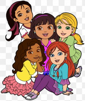 Special Friends Cliparts - Dora And Friends: Into The City! Dora The Explorer Go, Diego, Go! All Grown Up! Clip Art PNG