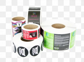 Personalized Roll - Paper Label Printer Sticker PNG