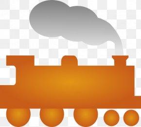 Yellow Train Cliparts - Thomas Train Rail Transport Passenger Car Clip Art PNG