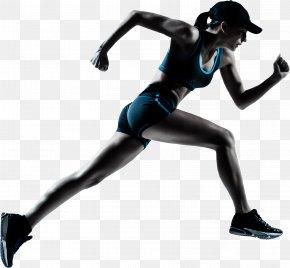 Running Woman Image - Running Sprint Jogging Woman Clip Art PNG