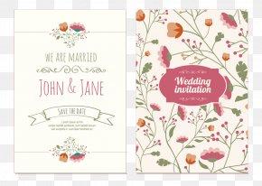 Wedding Invitation Vector - Wedding Invitation Flower Bouquet PNG