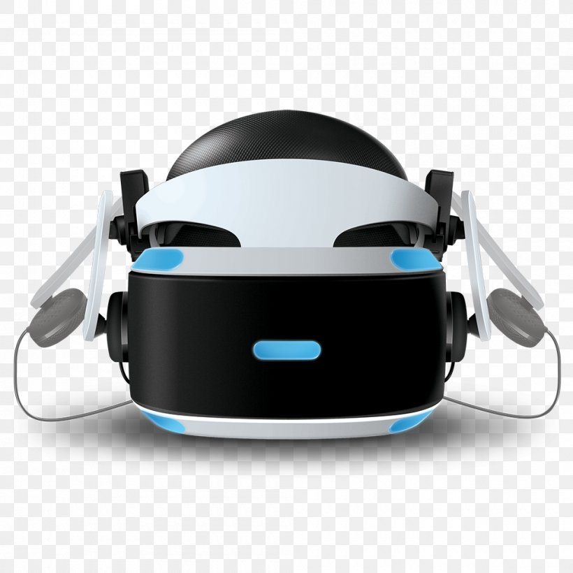 PlayStation VR Virtual Reality Headset Oculus Rift HTC Vive Headphones, PNG, 1000x1000px, Playstation Vr, Apple Earbuds, Audio, Audio Equipment, Hardware Download Free