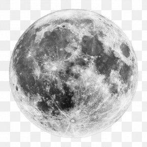 Sem - Supermoon January 2018 Lunar Eclipse Full Moon Blue Moon PNG