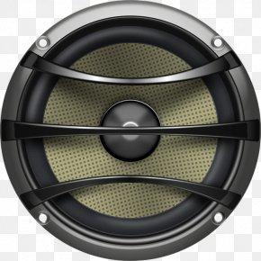 Speaker - Subwoofer Loudspeaker Clip Art PNG