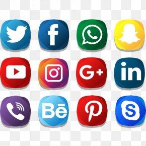 Social Media - Icon: Social Media Icons Vector Graphics Logo Clip Art PNG