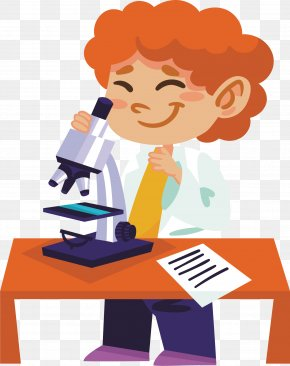 Scientific Experiment Scientist - Experiment Science Illustration PNG