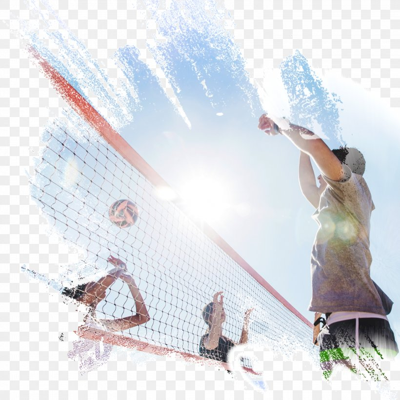 Beach Volleyball Volleyball Net Sport, PNG, 3000x3000px, Volleyball, Ball, Beach Volleyball, Leisure, Sky Download Free
