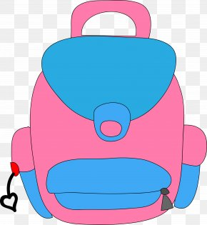 School - School Satchel Cartoon Clip Art PNG