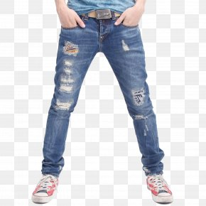 Jeans Image - Jeans Slim-fit Pants Trousers Fashion Denim PNG