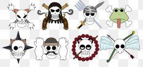 Jolly Roger Chopper - Jolly Roger Borsalino One Piece Skull PNG