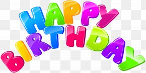 Happy Birthday Clip Art Image - Birthday Cake Clip Art PNG