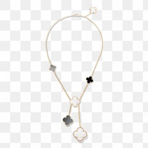 Necklace - Van Cleef & Arpels Necklace Colored Gold Charms & Pendants Pearl PNG