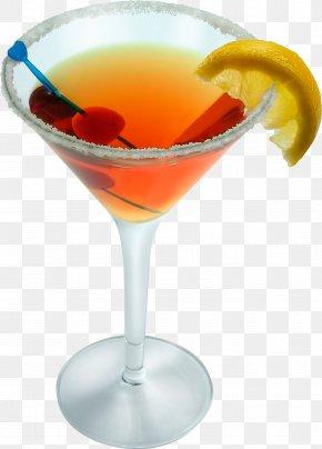 Glass Image - Vodka Martini Cocktail Fizz PNG