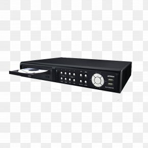 Old Embedded Hard Disk Video Recorder - Digital Video Recorder Hard Disk Drive Videocassette Recorder AVTECH Corp. PNG