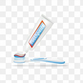 Vector Toothpaste, Toothbrush - Toothpaste Toothbrush Euclidean Vector PNG