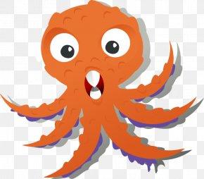 Cartoon Octopuses - Octopus Cartoon Monster Clip Art PNG