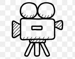 Camera - Video Cameras Drawing Movie Camera PNG