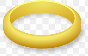 Gold Band - Wedding Ring Gold Clip Art PNG