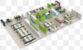 Design - Office Space Planning Interior Design Services 3D Floor Plan PNG