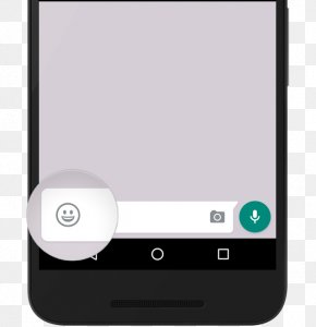 Smartphone - Smartphone Feature Phone Emoji WhatsApp Information PNG