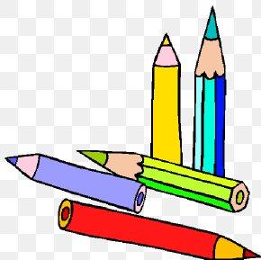 Pencil - Colored Pencil School Writing Implement Clip Art PNG