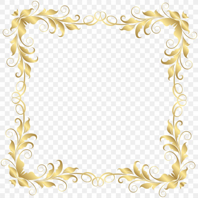 Picture Frame Clip Art, PNG, 8000x8000px, Borders And Frames, Border, Border Flowers, Clip Art, Decorative Arts Download Free