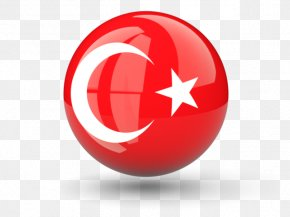 Turkey Flag Icon Hd - Flag Of Turkey Clip Art PNG