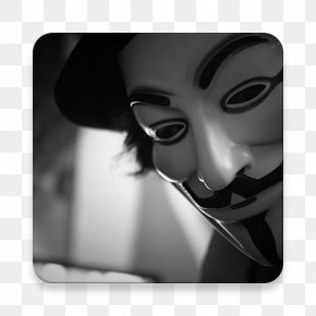 Mask - Guy Fawkes Mask Anonymous Desktop Wallpaper PNG