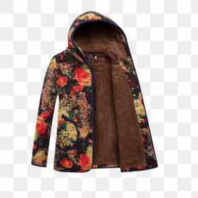 Floral Mother Coat - Outerwear Skirt Flower PNG