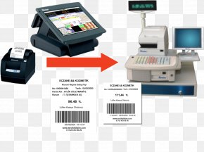 Computer - Point Of Sale Computer Printer Barcode Automation PNG