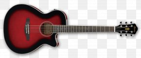 Acoustic Guitar - Guitar Amplifier Ibanez Acoustic Guitar Electric Guitar PNG