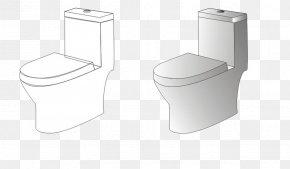 Toilet Stick Figure - Toilet Seat Flush Toilet PNG