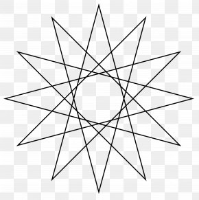 Star - Star Polygon Regular Polygon Geometry PNG