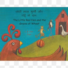 Book - The Little Red Hen The Goose That Laid The Golden Eggs Aesop's Fables Book Rooster PNG